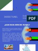 Diodo Tunel Tres