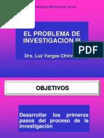 3. Formulacion Del Problema de Investigacion
