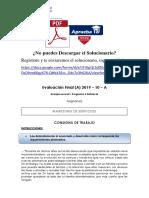 EXAMEN FINAL - MARKETING DE SERVICIOS (04 MAYO)