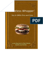 Meatless Whopper | Soy & GMOs Pros and Cons