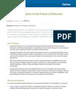 Gartner Data Analytics Australia Augmented Analytics 2018