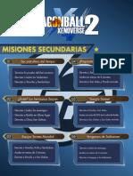 Misiones Secundarias DBXV2 - 1 Estrella