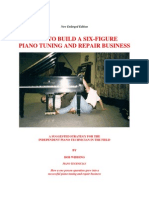 How to build a six-figure piano tuning & repair business