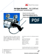 Compact Chain-Type Bracket - Universal Mounting for OPTALIGN® & ROTALIGN®!!