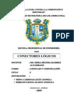 CONECTORES LOGICOS - UTEA