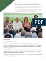20-03-2019 Encabezan Gobernadora y Secretario de Sader celebración por el Día del Agricultor - El Sol de Hermosillo