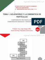 solidworks y la cinematica de particulas