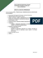 Guía de Aprendizaje PROCESO LEGAL Y ADMINISTRATIVO EN LA CONSTITUCIÓN DE UNA EMPRESA(1).pdf