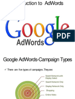 Basics of Adwords Notes