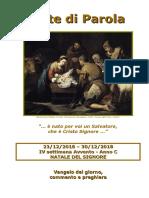 Sete di Parola - IV Settimana Avvento - Natale - C.doc