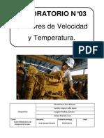 Sensor de Velocidad y Temperatura.