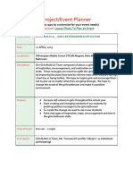wms project planner