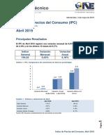 IPC Abril 2019