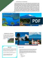 La Zona Sur de Chile y Sus Tres Regiones