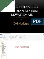 Cara Ekstrak File Kemudian Dikirim Lewat Email-ppt