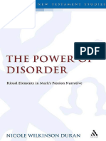 Power of Disorder_ Ritual Elements in Mark's Passion Narrative.pdf