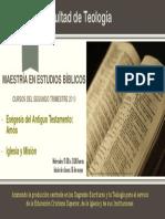 Maestría en Estudios Bíblicos