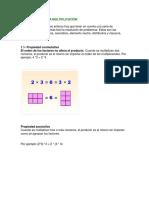 Propiedades de La Multiplicación