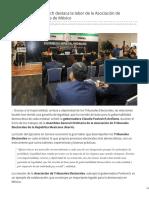 07-03-2019 Gobernadora Pavlovich destaca la labor de la Asociación de Tribunales Electorales de México-Expresso