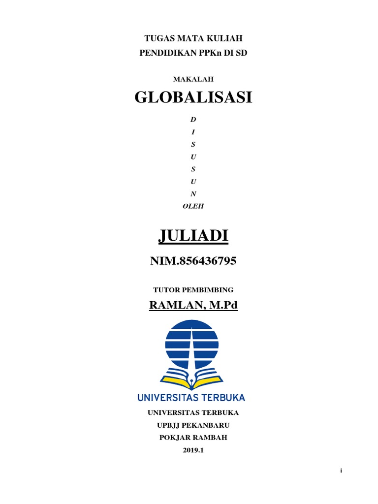 Cover Makalah Ut