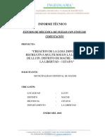 INFORME TECNICO ESTUDIO DE SUELOS.PDF