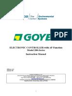 Programadores Goyen TS 200 Series Pulse Catalogo Completo