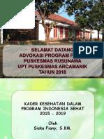 Refreshing Kader Posyandu - PHBS dan Keluarga Sehat