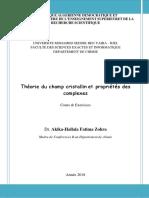 supportCours complet _Théorie du  champ cristallin et propriétes des complexes.pdf