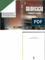 Solidificação - Fundamentos e Aplicações - Amauri Garcia