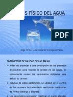 Analisis  fisico del agua