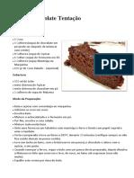 Bolo de Chocolate Tentação1