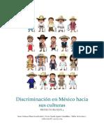 Discriminación en México Hacia Sus Culturas