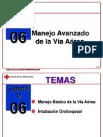 Capítulo 06 - Manejo Avanzado de la Vía Aérea.ppt
