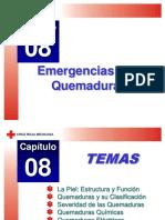 Capitulo 08 Emergencias por Quemaduras.ppt
