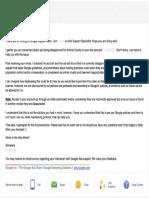 Google Response Letter