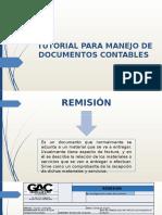 Tutorial Para Manejo de Documentos Contables