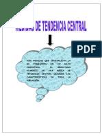 Mapa Medidas de Tendencia Central