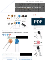 How to Read Capacitor Code Value _ Ceramic Capacitor Code Chart