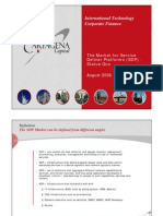 The Market for Sdp Overview v2