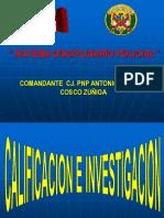 1ra Expos. Cosco-Calificación Denuncia.ppt