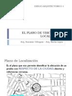El Plano de Ubicación y Localización