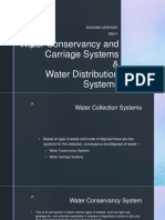 Water conservancy and carriage systems