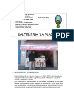 Salteñeria La Plaza
