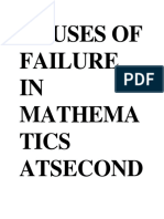 causes of failure in mathematics.docx