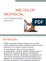 Sindrome Dolor Miofascial