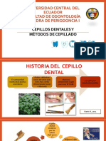 Cepillos Dentales y Métodos