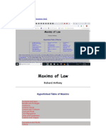 Ecclesia.org Maxims of Law