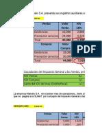 Casos Prácticos -Liquidación de  Impuestos