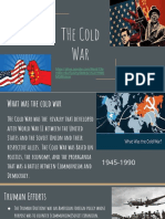 early cold war events