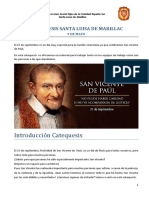 Catequesis San Vicente de Paul 2018